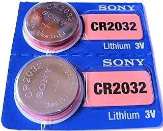 Sony 2 x CRCR2032 CR2032 3V Lithium Batteries