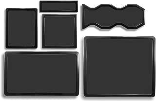 DEMCiflex Dust Filter Kit for Cooler Master HAF 932 (6 Filters), Black Frame/Black Mesh