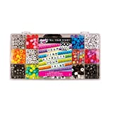 Fashion Angels Tell Your Story Alphabet Bead Case (12354) Bracelet Making Kit, 500+ Bead Set