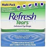 Refresh Tears Eye Drop Lubricant 4 x 15ml...