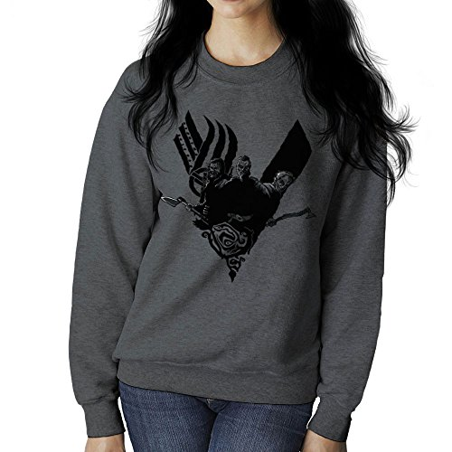 Cloud City 7 Plunder Vikings Ragnar Lothbrok Women's Sweatshirt
