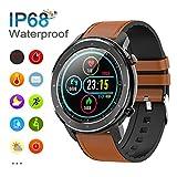Smartwatch, Orologio Intelligente Fitness Uomo Donna Impermeabile IP68, Smart Watch con Colorato...
