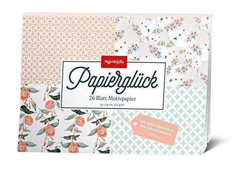 Papierglück - Design Pastell: Motivpapier (monbijou)
