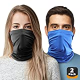 9. 2pc Cooling Neck Gaiter Cooling Face Cover, Cooling Neck Wraps for Summer Heat, Cooling Bandana Scarf for Face & Neck Cool Baklava Mask for Hot Weather Relief Gator Wrap for Men, Women. Dog, Fishing