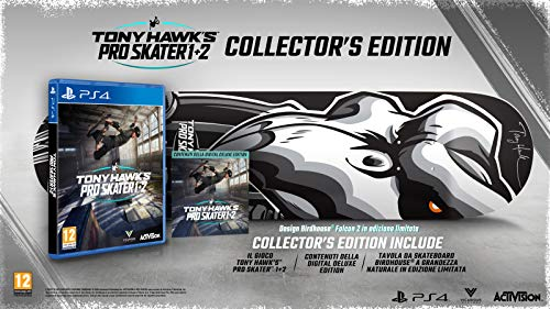Tony Hawk's Pro Skater 1+2 édition Collector...