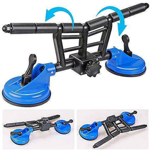 SELEWARE Innovative Boat Roller, Roller Loader with Suction Cup for Kayak Boats, Load Bearing Capacity 300 lbs, Steel and Nylon Bushing