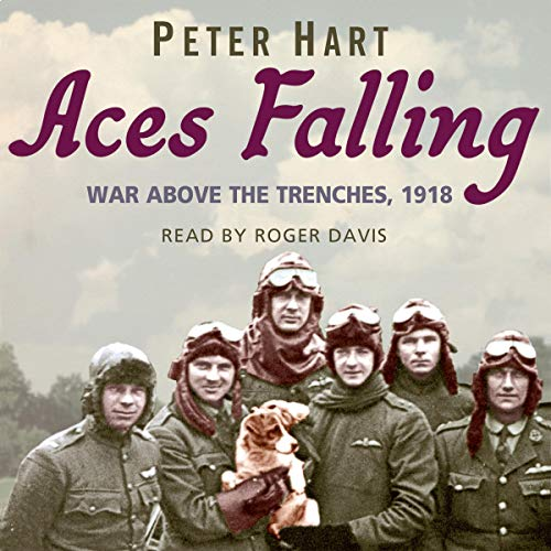 Aces Falling audiobook cover art