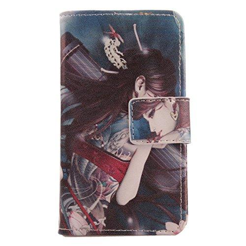 Lankashi PU Flip Leder Tasche Hülle Hülle Cover Schutz Handy Etui Skin Für DOOGEE X5S 5