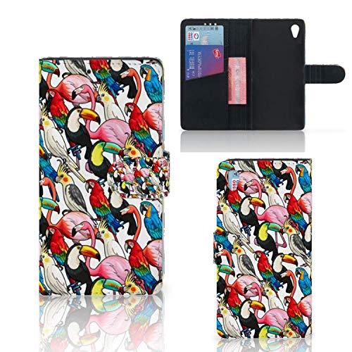 Bookstyle case für Sony Xperia Z3 Handyhüllen Vögel