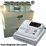eposbits® marca 80rollos–4cajas para Casio 130CR 130CR caja registradora