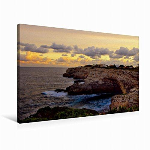Premium Textil-Leinwand 90 x 60 cm Quer-Format Mallorca ohne Strand und Bikini | Wandbild, HD-Bild auf Keilrahmen, Fertigbild auf hochwertigem Vlies, Leinwanddruck von Manfred Spengler
