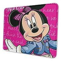 ミッキーミニー デラックスマウスパッド防水/洗える/滑り止めのゲームとオフィスの理想