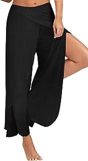 comprar comparacion Landove Pantalon Yoga Mujer Abierto Leggins Deporte Cintura Alta