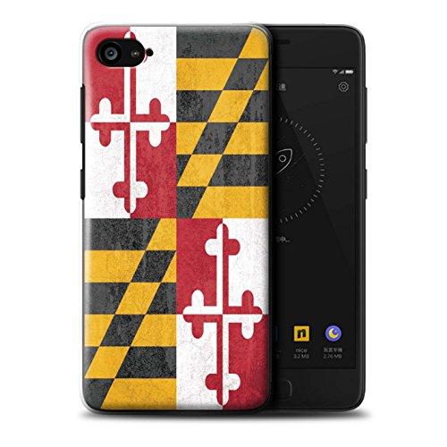 Stuff4® Hülle/Hülle für Lenovo ZUK Z2 / Maryland Muster/Jahrgang USA-Staat Flagge Kollektion