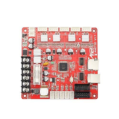 HUANRUOBAIHUO A1284-Base Scheda Madre Scheda di Controllo Mainboard for Anet A6 / A8 Assemblea 3D Desktop Stampante RepRap pruse i3 Kit Accessori Stampante 3D (Size : for Anet A8)