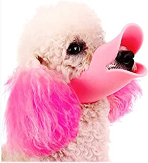 Anti Bite Dog Mouth Covers, Duck Mouth Shape, Anti-Called Muzzle Masks,Pet Mouth Set Bite-Proof, Silicone Material