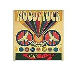 Woodstock Einladungskarte auf Leinwand, Poster und