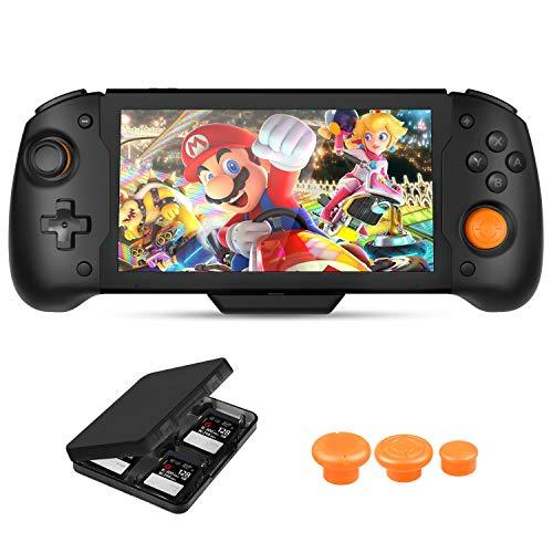 Zacro Consoles pour Nintendo Switch Manette pour Nintendo Switch Grande poignée confortable et antidérapante, conception ergonomique, gros boutons de commande, poignée en ligne pour plus de commodité