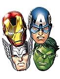 Los Vengadores Verbetena 014300065 Avengers–6Masken