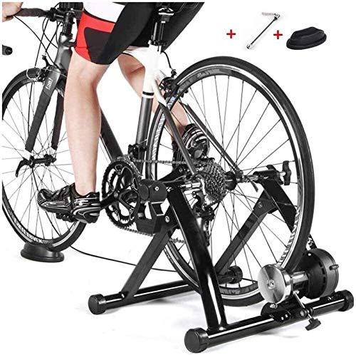 Bici MTB Todo el Acero Cubierta Soporte de la Bici Trainer Proporciona youall-Temporada de Entrenamiento, Acondicionado, Fitness y Ejercicio con un 297 LB / 135 Kg de Peso Bike