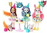 Enchantimals Cumpleaños Encantados, Pack de 3 Muñecas con Accesorios (Mattel GJX22)