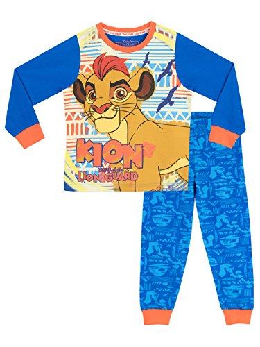 Disney Ensemble De Pyjamas - La Garde du Roi Lion - Garçon, Bleu, 3-4 ans