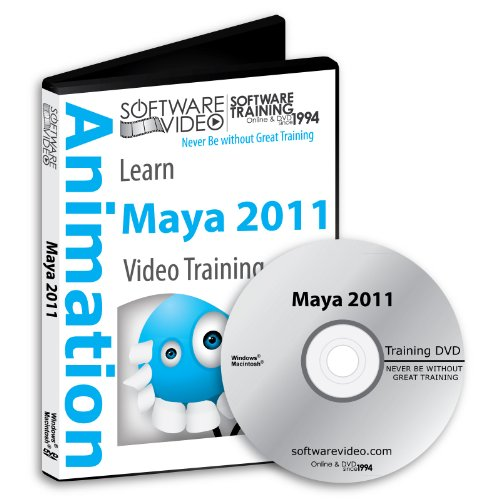 Software Video Learn Maya 2011 Training DVD Sale 60% Off training video tutorials DVD- Over 10 Hours of Video Training