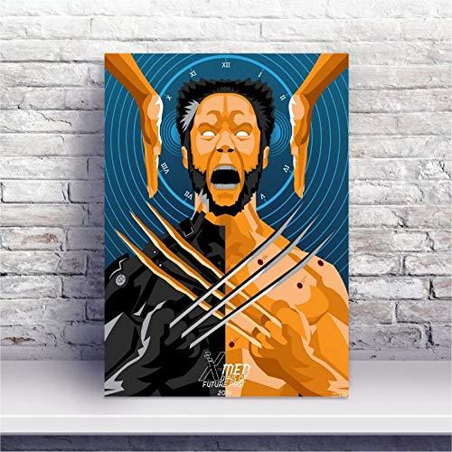 Placa MDF X-Men: Dias de um Futuro Esquecido