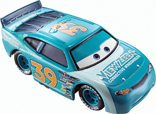 Disney Pixar Cars Ryan Shields (View Zeen # 39) (Piston Cup Series, # 11 of 18) - véhicule miniature