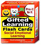 Gifted Learning Flash Cards - Social Emotional Learning (SEL) for Pre-K and Kindergarten