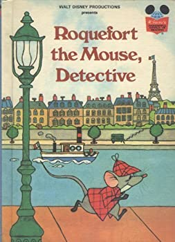 Roquefort the Mouse, Detective - Book  of the Disney's Wonderful World of Reading