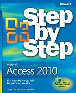 Microsoft Access 2010 Step by Step