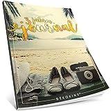 Dékokind® 3 Jahres Journal: Ca. A4-Format, 190+ Seiten, Vintage Softcover • Dicker Jahreskalender, Tagebuch für Erwachsene, Kalenderbuch • ArtNr. 03 Achtsamkeit • Ideal als Geschenk