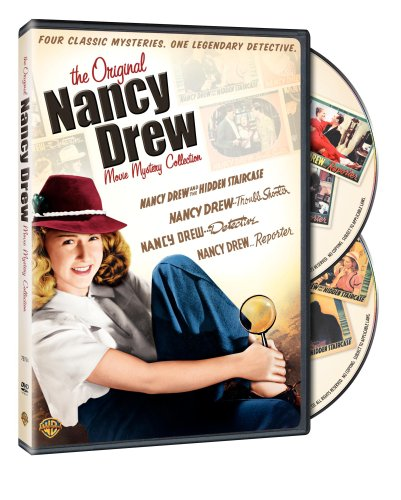 The Original Nancy Drew Movie Mystery Collection (Detective / Reporter / Troubleshooter / Hidden Staircase)