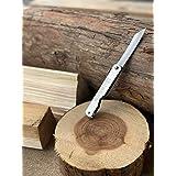 肥後守 肥後守ナイフ 割込 メッキ 大 アウトドア 折り畳みナイフ DIY 木工