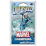 Asmodée Italia Marvel Champions Lcg - Quicksilver - Pack héroe - (Espansion)