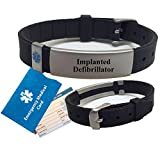IMPLANTED DEFIBRILLATOR Medical Alert ID Bracelet