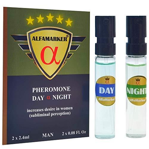Vaporizador de feromonas de día y noche para hombre AlfaMarker 2x2.4ml
