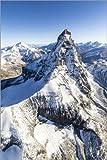 Poster 61 x 91 cm: Die einzigartige Form des Matterhorns