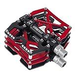 Pedali per Bicicletta, Pedali MTB Antiscivolo Resistente in Lega di Alluminio Lavorato a CNC, per...
