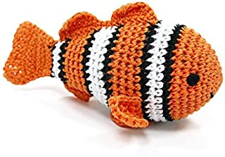crochet clown fish