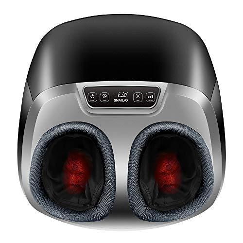 Snailax Shiatsu Foot Massager with Heat - Electric Foot Massage Machine with Air...