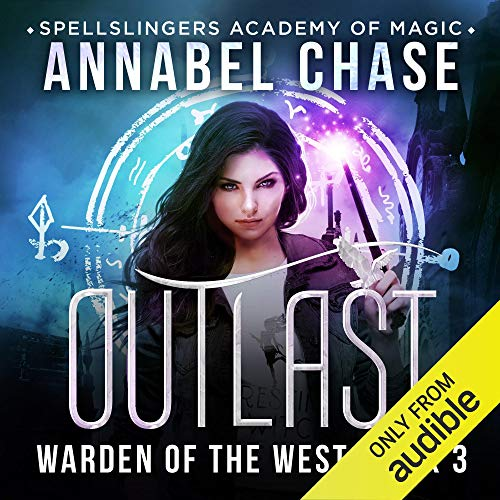 Outlast audiobook cover art