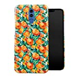 DODOX Tropical Watercolor Oranges Pattern Case Compatible with Huawei Mate 20 Lite Snap-On Hard...