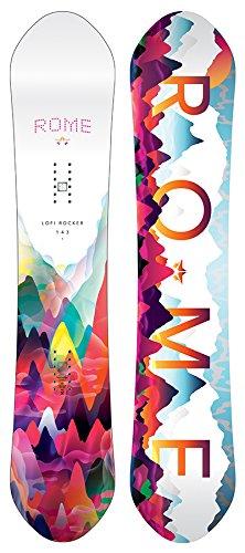 ROME Damen Freestyle Snowboard Lo-Fi Rocker 143