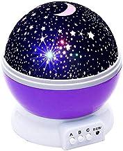 Treasures Brelobg Rotating Projector Star Light, Purple