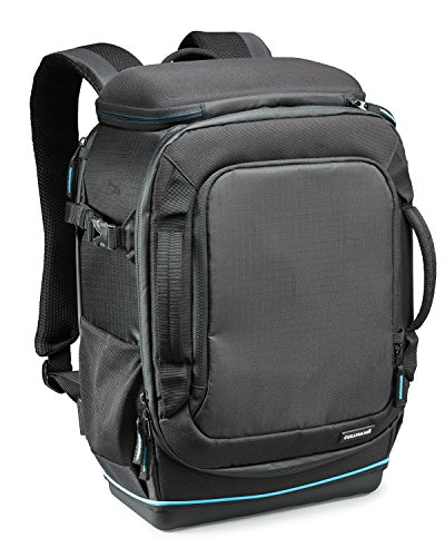 Cullmann Peru Backpack 400+ extrem robuster Kamerarucksack für mittlere DSLR-Ausrüstung, Medium schwarz