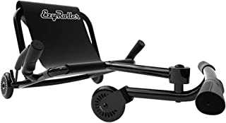 EzyRoller Classic - Black - Ride On for Children Ages 4+ Years Old - New Twist on Scooter - Kids Move Using Right-Left Leg Movements to Push Foot Bar - Fun Play and Exercise for Boys and Girls