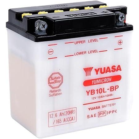 Motorrad Batterie Yuasa Yb12a A Dc Offen Ohne Säure 12v 12ah Cca 150a 134x80x160mm Auto