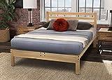 KD Frames Lexington Platform Bed, Full, Unfinished